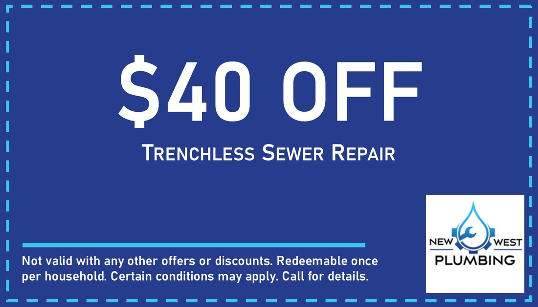$40 off trenchless sewer repair